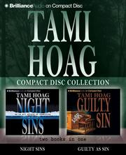 Cover of: Tami Hoag CD Collection 1: Night Sins and Guilty as Sin