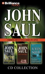 Cover of: John Saul CD Collection 3: The God Project, Nathaniel, and Perfect Nightmare