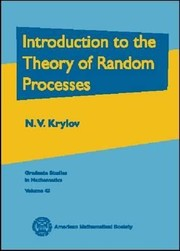 Cover of: Introduction To The Theory Of Random Processes