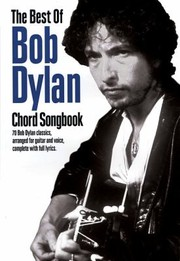 Cover of: The Best Of Bob Dylan Chord Songbook