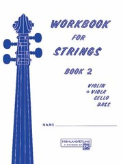 Cover of: Workbook for Strings Bk 2