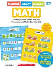 Cover of: Pocket Chart Games Math