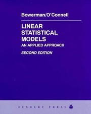 Cover of: Linear Statistical Models An Applied Approach