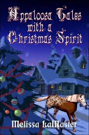 Appaloosa Tales With A Christmas Spirit
