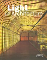 Cover of: Light In Architecture