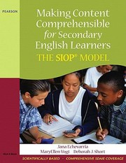 Cover of: Making Content Comprehensible For Secondary English Learners The Siop Model |