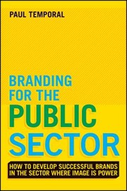 Cover of: Branding For The Public Sector