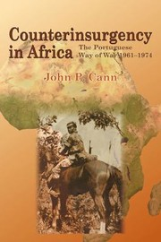 Cover of: Counterinsurgency In Africa The Portuguese Way Of War 19611974