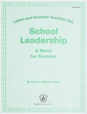 Cover of: School Leadership