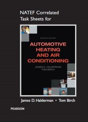 Cover of: NATEF Correlated Task Sheets for Automotive Heating and Air Conditioning