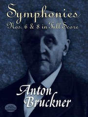 Cover of: Symphonies Nos 6 8