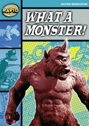 Cover of: What A Monster