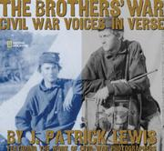 Cover of: The Brothers' War: Civil War Voices in Verse