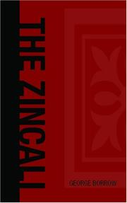 Cover of: The Zincali - An Account of the Gypsies of Spain