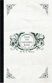 Cover of: God the Invisible King | H. G. Wells