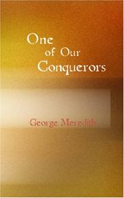 Cover of: One of Our Conquerors