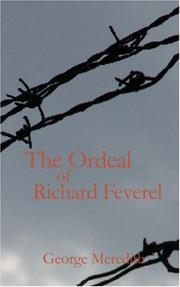Cover of: The Ordeal of Richard Feverel