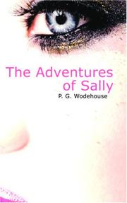 Cover of: The Adventures of Sally | P. G. Wodehouse