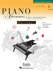 Cover of: Piano Adventures Level 4 Christmas Book