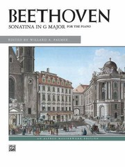 Cover of: Sonatina in G Major