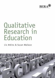 Cover of: Qualitative Research In Education
