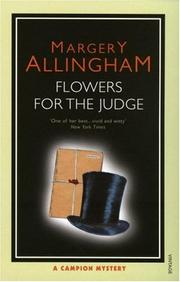 Cover of: Flowers For the Judge | Margery Allingham
