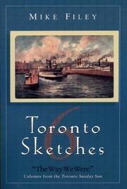 Cover of: Toronto sketches 6