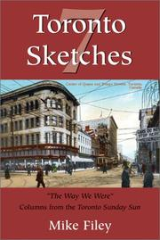Cover of: Toronto sketches 7