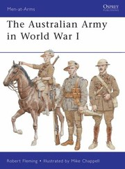 Cover of: The Australian Army In World War I