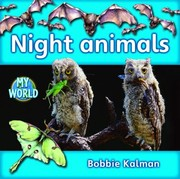Cover of: Night Animals