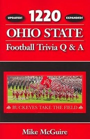 Cover of: 1220 Ohio State Football Trivia Q A