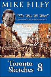 Cover of: Toronto sketches 8