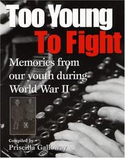 Cover of: Too Young to Fight
