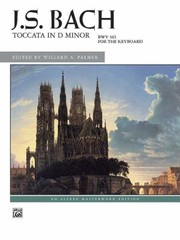 Cover of: Toccata in D Minor