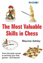 Cover of: The Most Valuable Skills In Chess