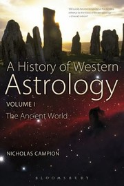 Cover of: The Dawn Of Astrology A Cultural History Of Western Astrology
