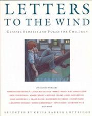 Cover of: Letters to the wind