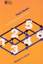 Cover of: French Syntax