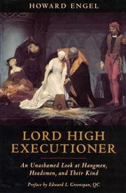 Cover of: Lord high executioner