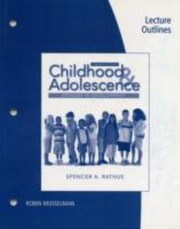 Cover of: Childhood And Adolescence Voyages In Development Lecture Outlines