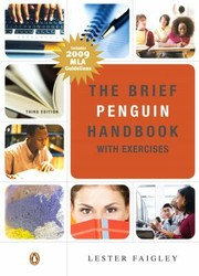 Cover of: The Brief Penguin Handbook With Exercises Mla Update