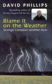 Cover of: Blame it on the weather | D. W. Phillips