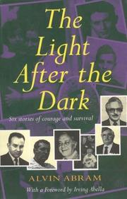 Cover of: The light after the dark