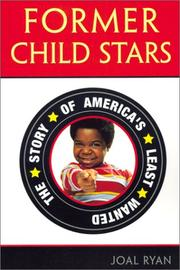Cover of: Former Child Stars