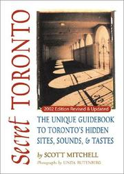 Cover of: Secret Toronto