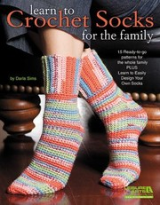 Cover of: Learn To Crochet Socks For The Family