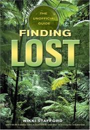 Cover of: Finding Lost