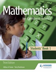 Cover of: Mathematics For Caribbean Schools