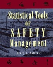 Cover of: Statistical Tools of Safety Management