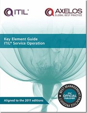 Cover of: Key Element Guide Itil Service Operation